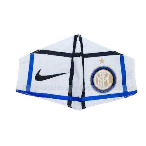 face masks inter milan bianco 2020-21