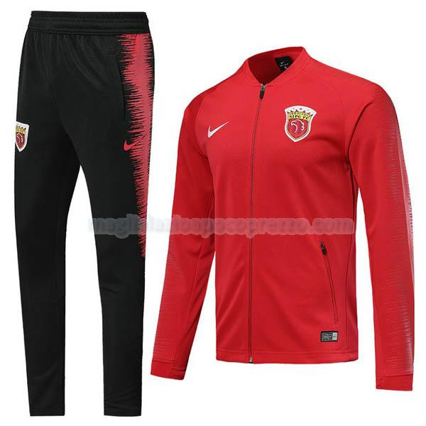 giacca shanghai sipg rosso 2019-2020
